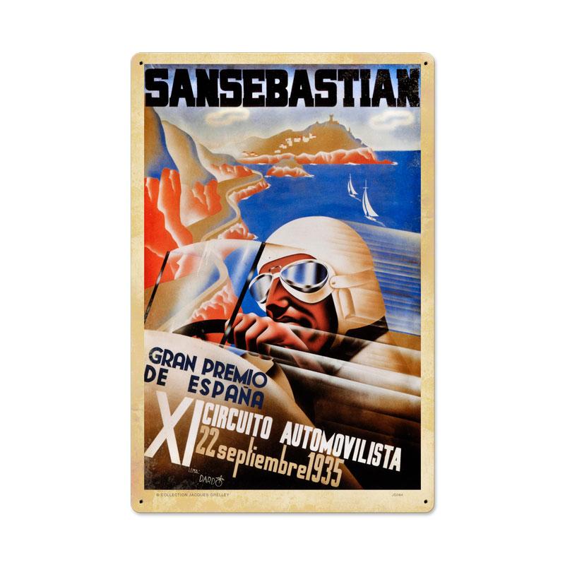 Spanish Grand Prix Vintage Sign