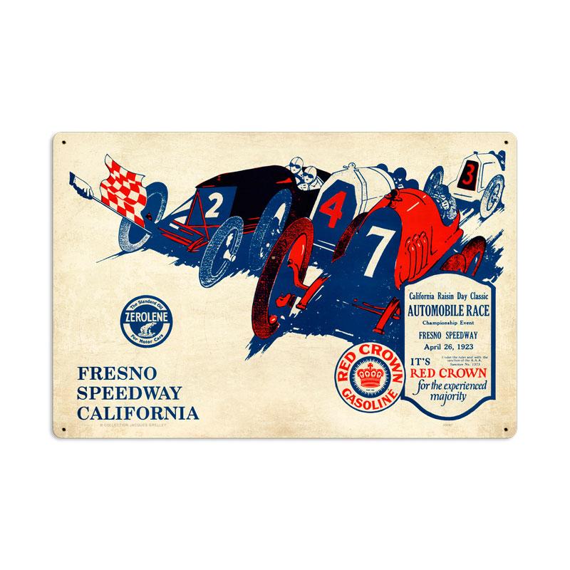 Fresno Speedway Vintage Sign