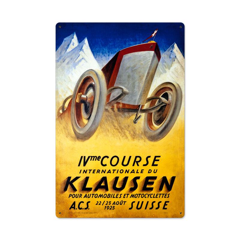 Klausen Suisse Vintage Sign