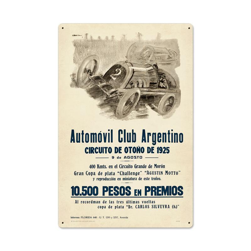 Argentina Grand Prix Vintage Sign