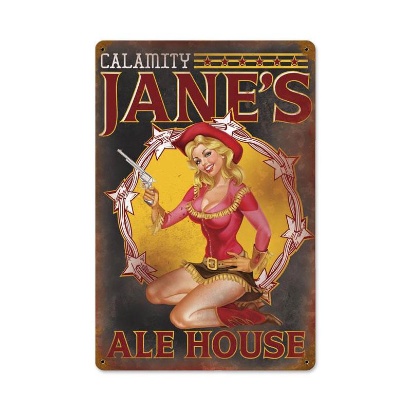 Calamity Jane Vintage Sign