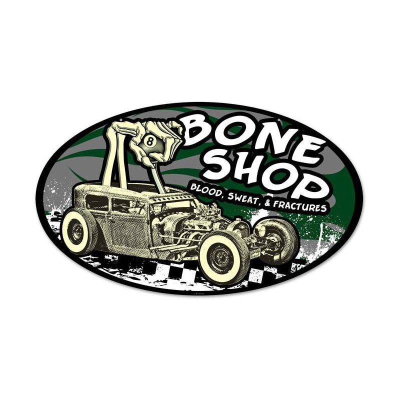 Bone Shop Vintage Sign