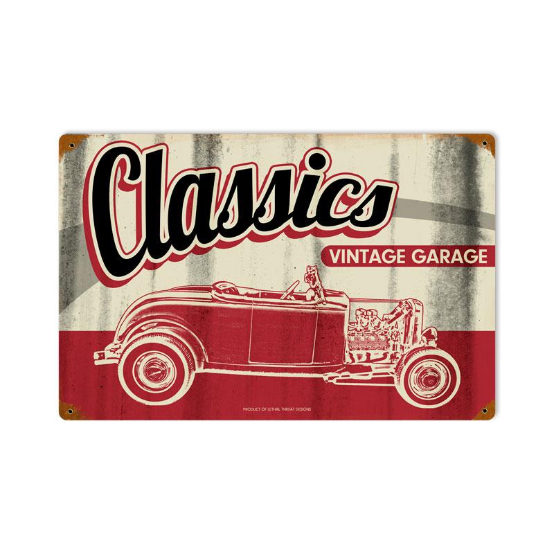 Classic Garage Vintage Sign