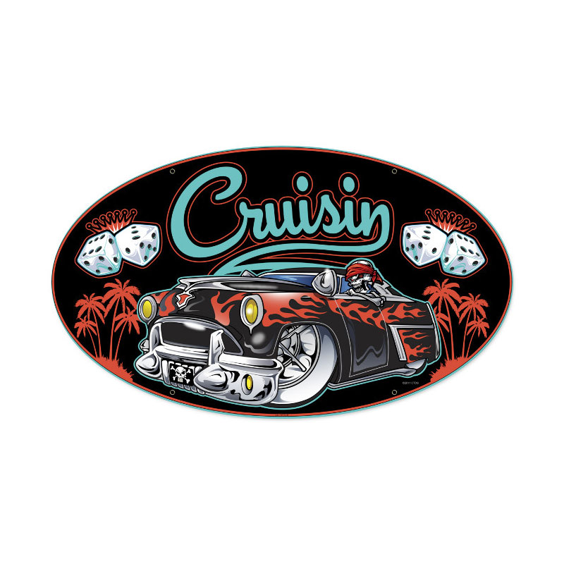 Cruisin Vintage Sign
