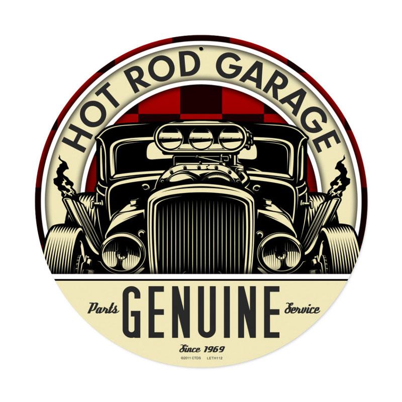 Genuine Hot Rod Vintage Sign