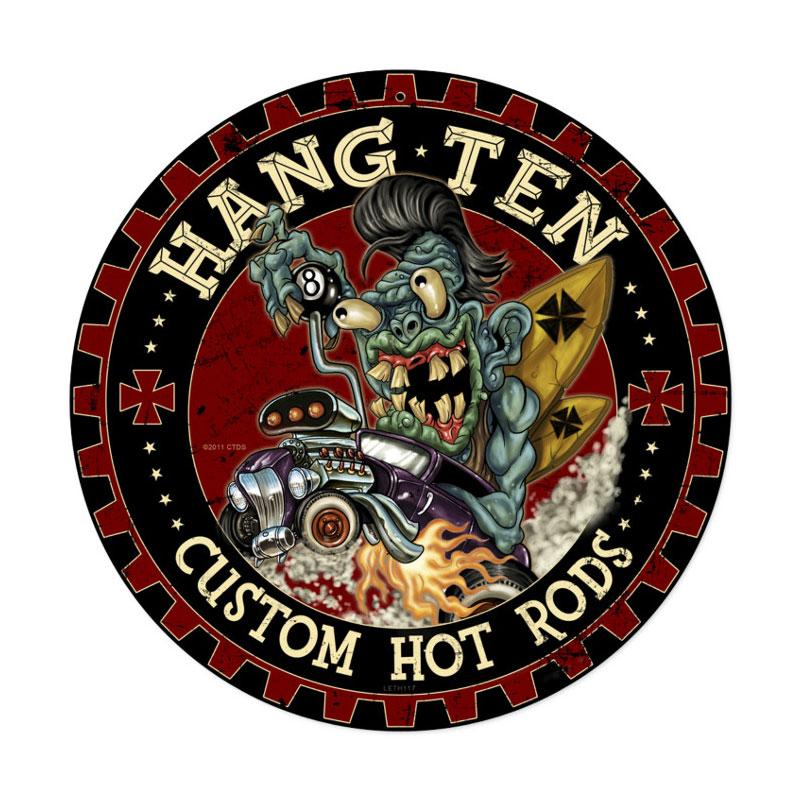 Hot Rod Monster Vintage Sign