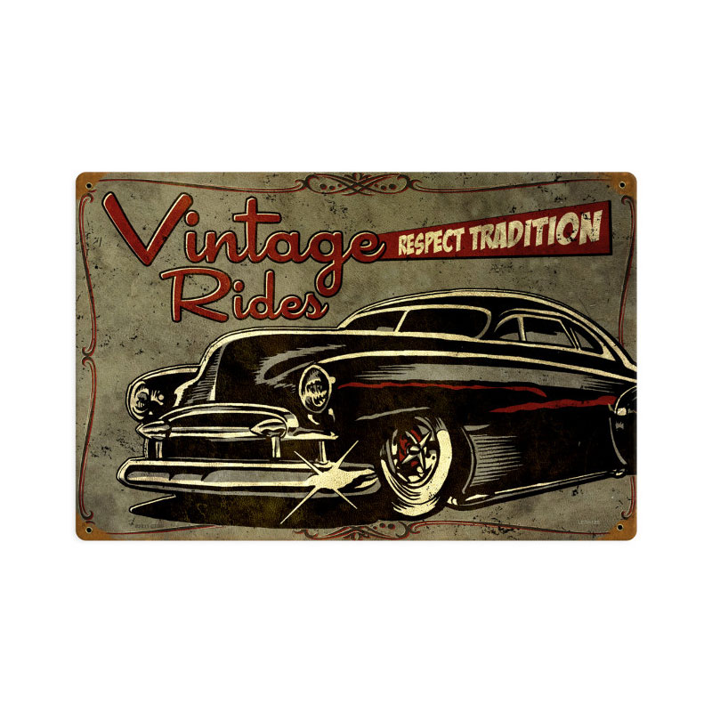Respect Tradition Vintage Sign