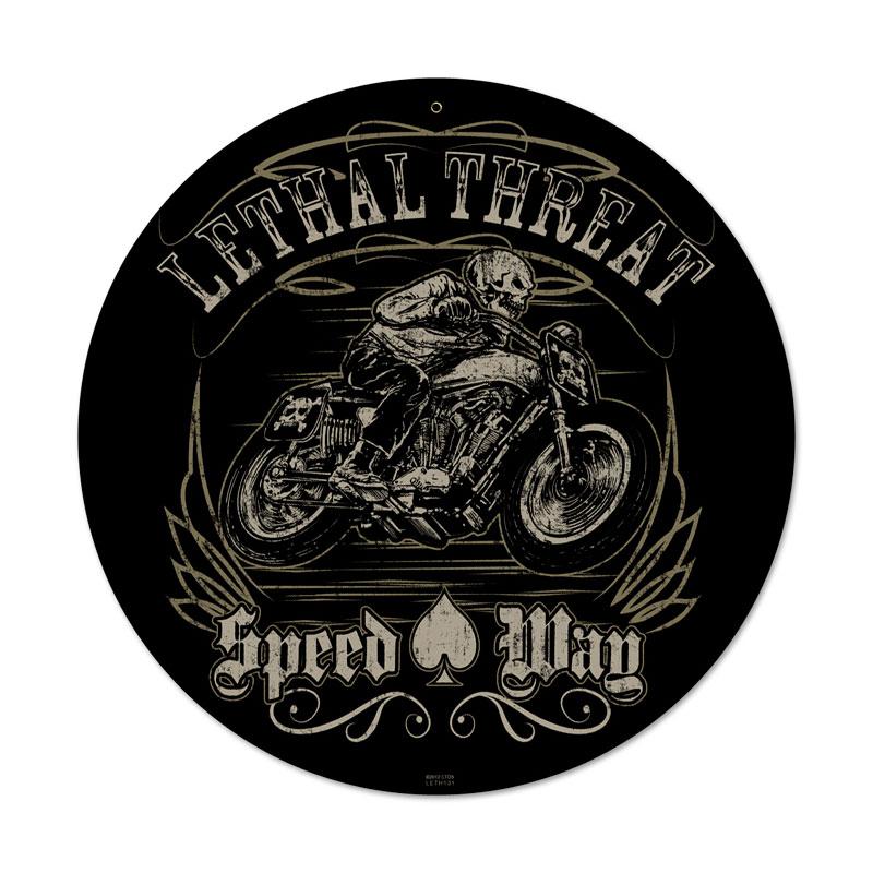 Lethal Speedway Vintage Sign