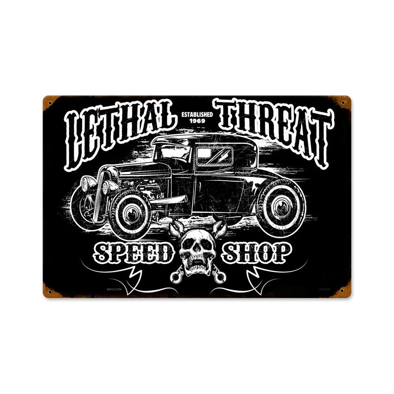Hot Rod Speedshop Vintage Sign