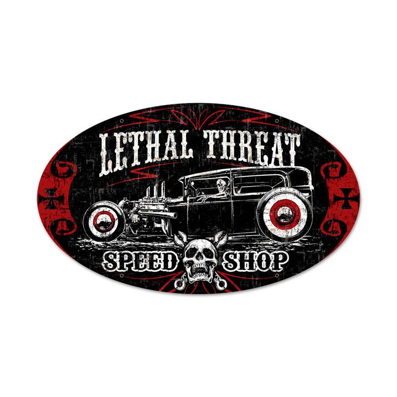 Lethal Speedshop Vintage Sign