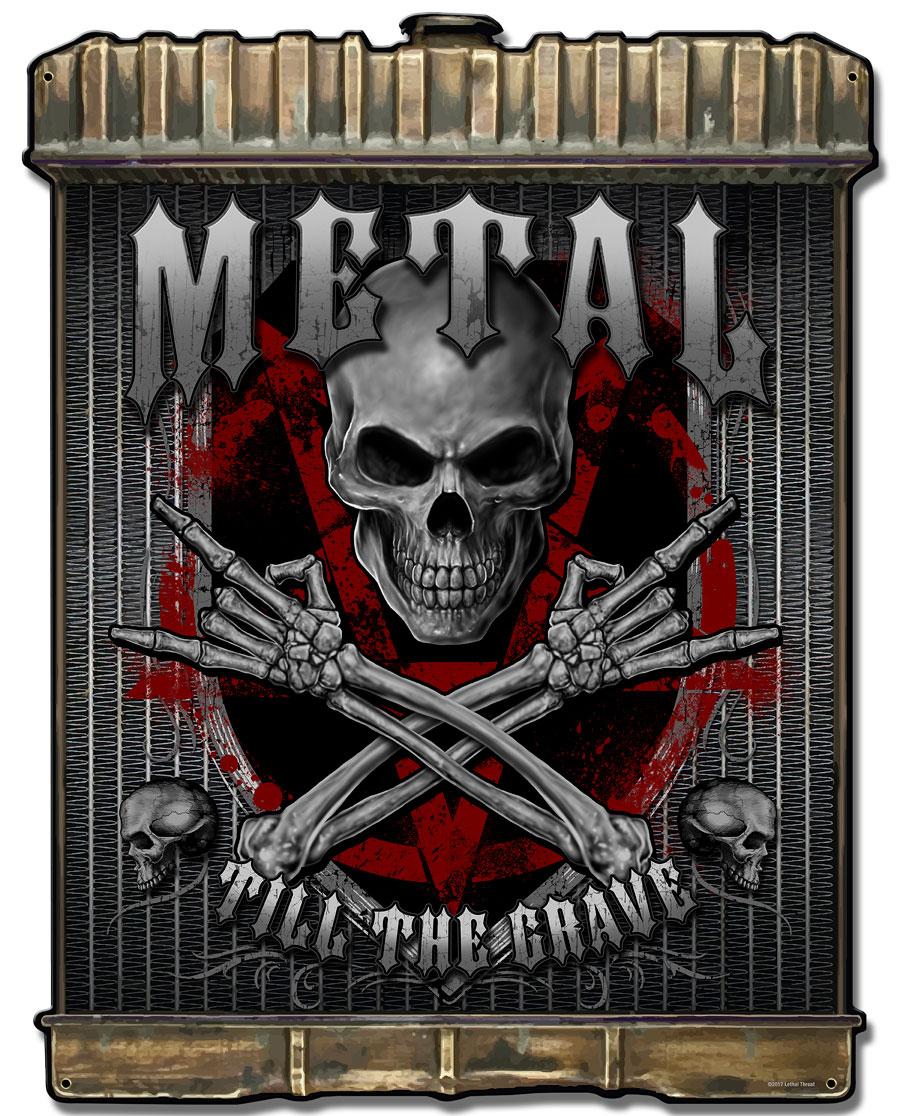 Radiator Heavy Metal Vintage Sign