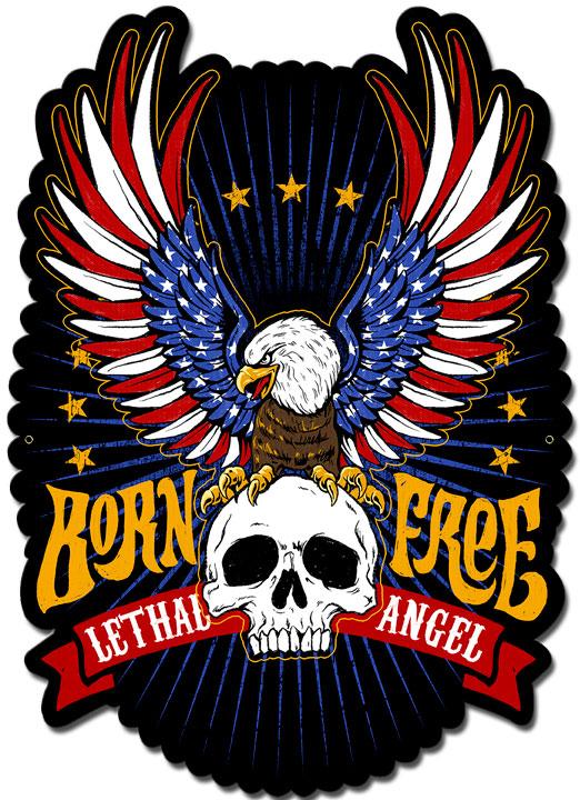 LETH196 - LETHAL ANGEL BORN FREE EAGLE