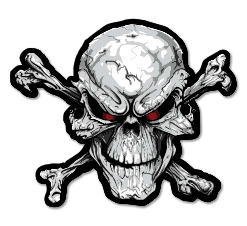 LETH210 - ANGRY SKULL