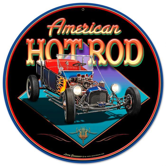 AMERICAN HOT ROD Vintage Sign