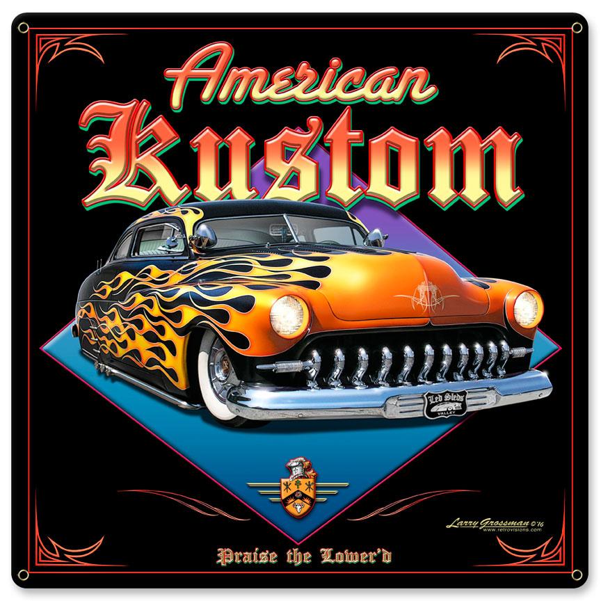 AMERICAN KUSTOM Vintage Sign