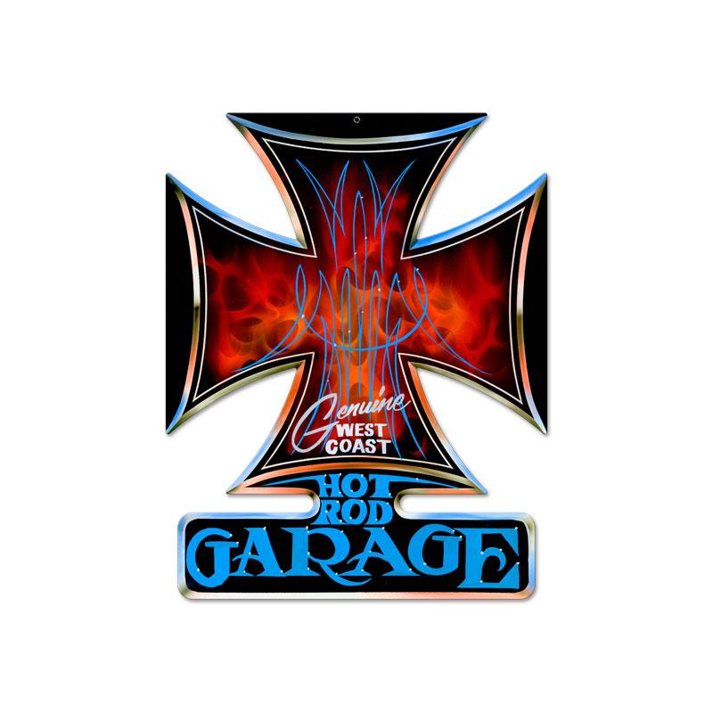 Hot Rod Garage Vintage Sign