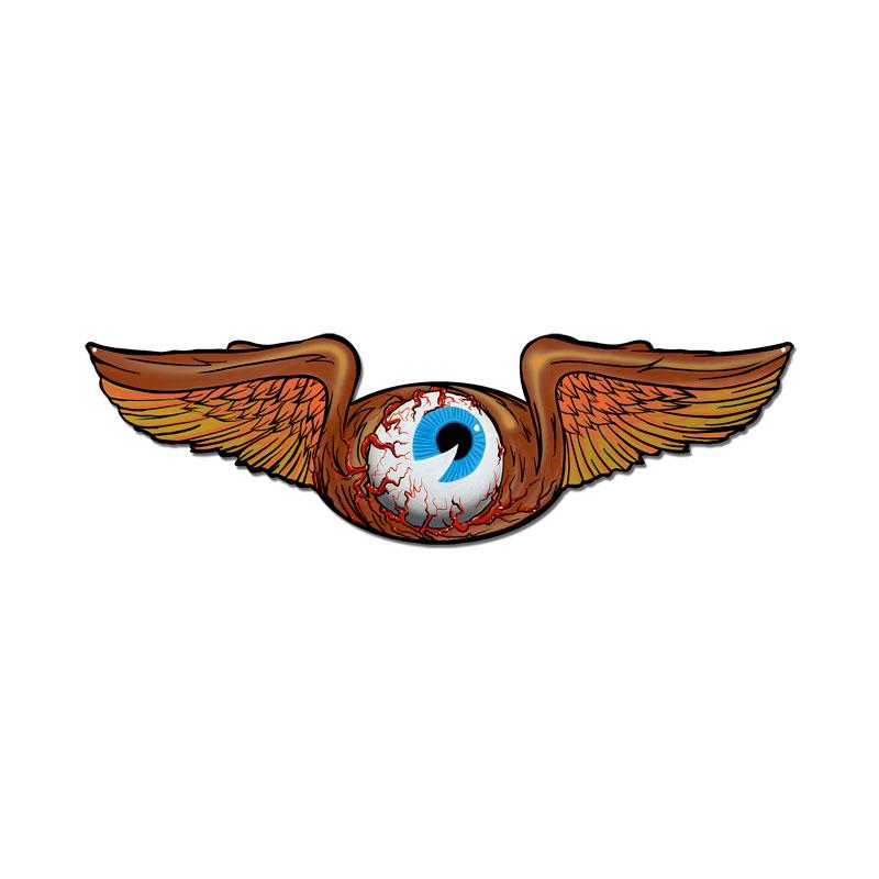 Flying Eye Vintage Sign