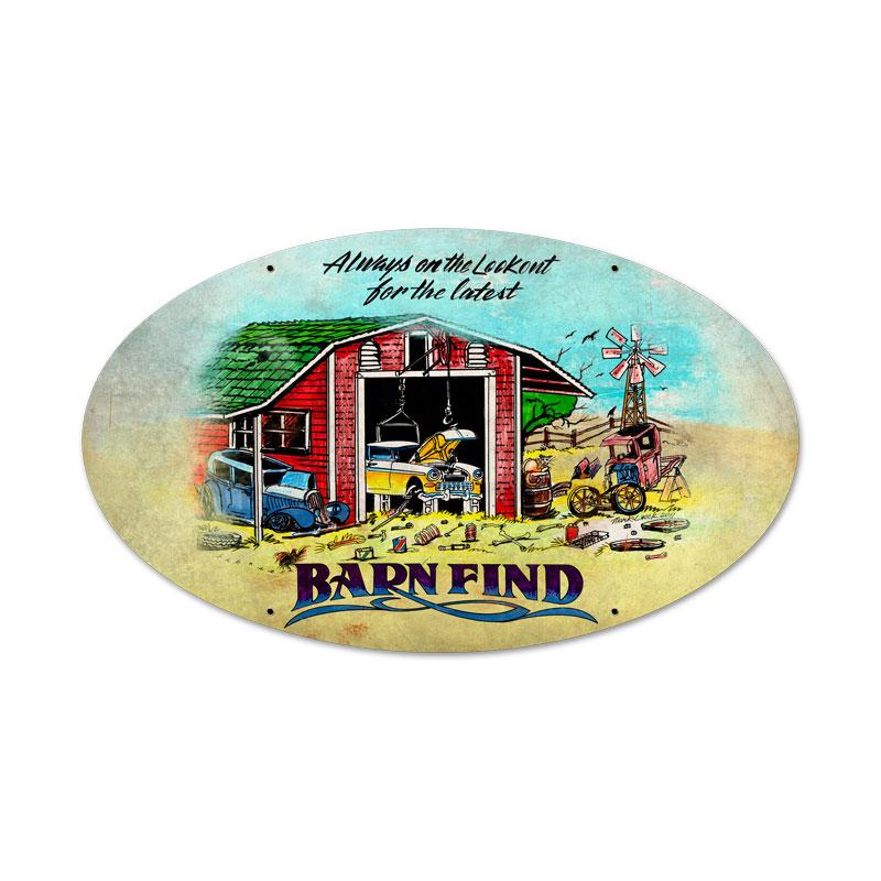 Barn Finds Vintage Sign