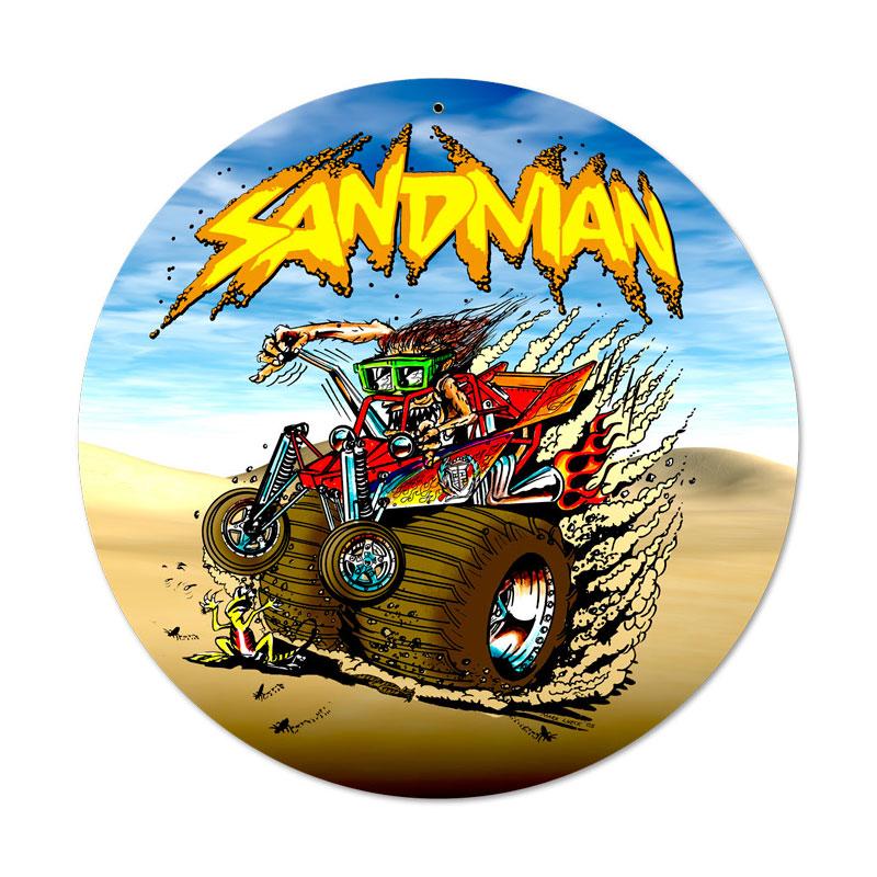 Sand Man Vintage Sign