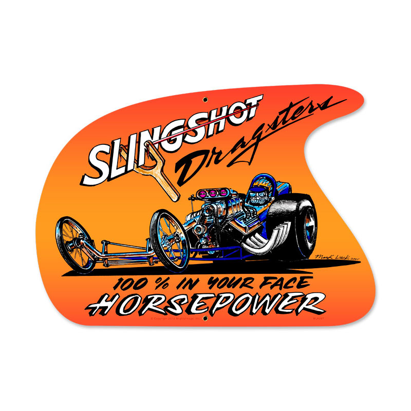 Slingshot Vintage Sign