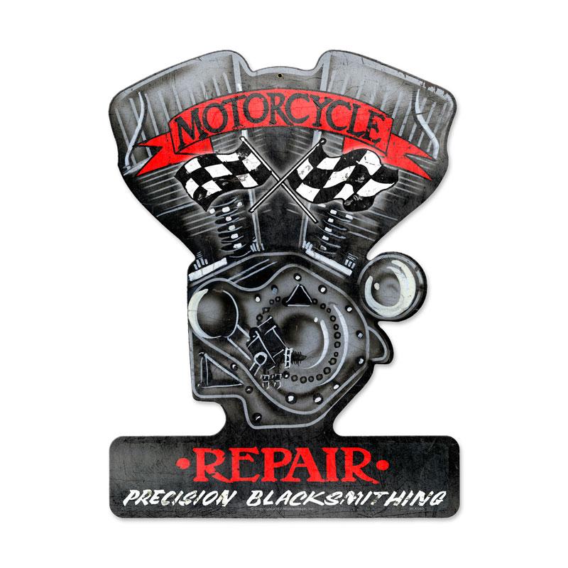 Motorcycle Repair Vintage Sign