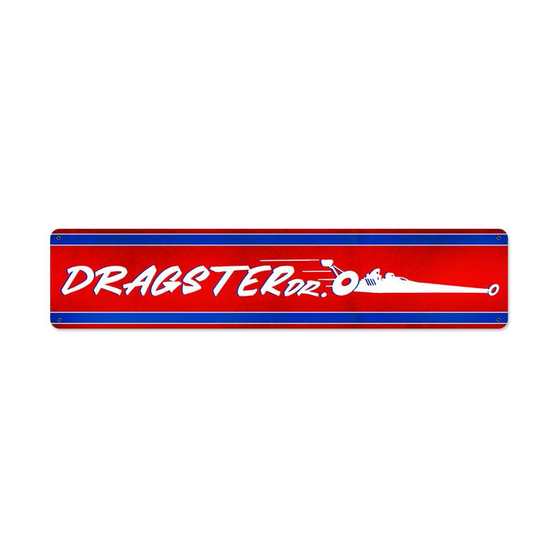 Dragster Dr Vintage Sign