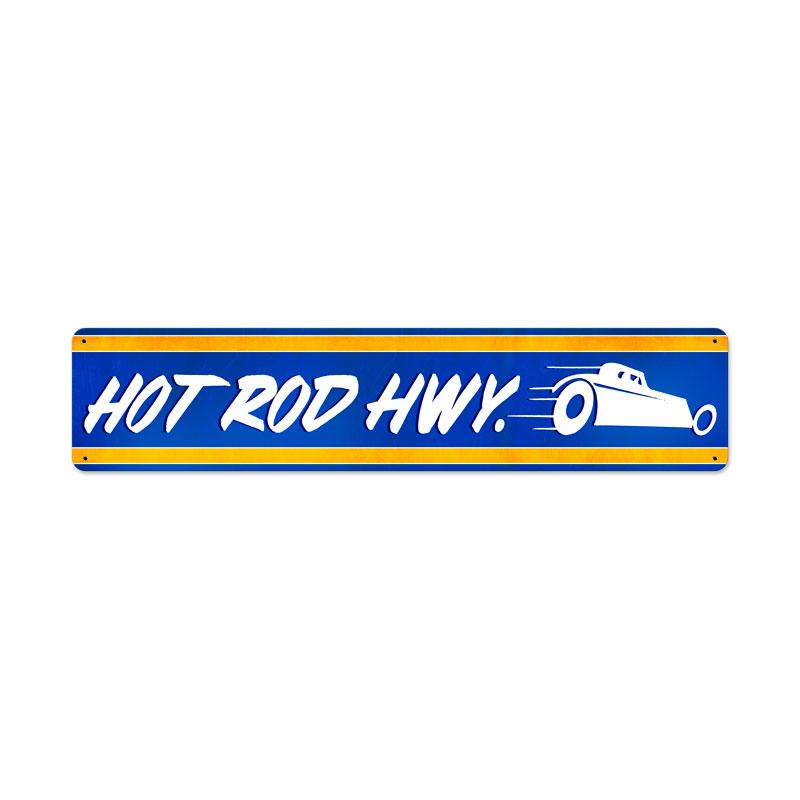 Hot Rod Hwy Vintage Sign