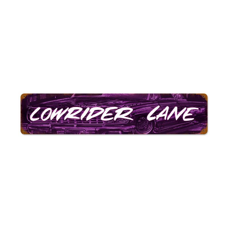Lowrider Ln Vintage Sign