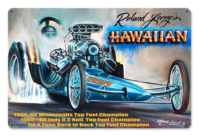 Hawaiian Vintage Sign