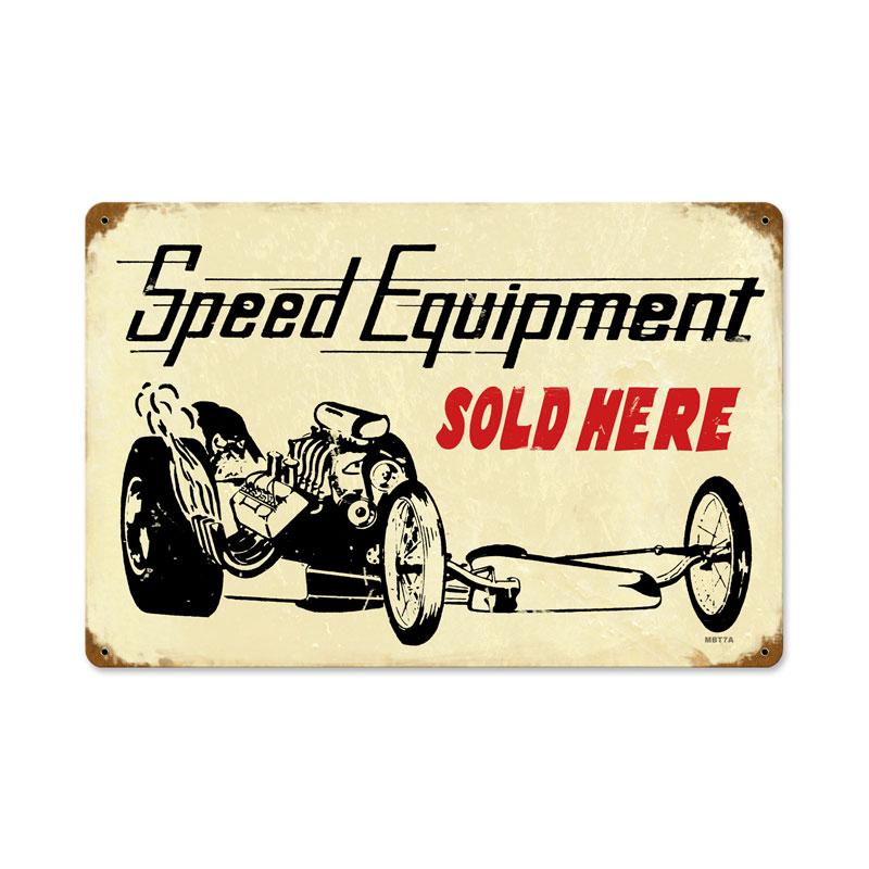 Speed Equipment Vintage Sign