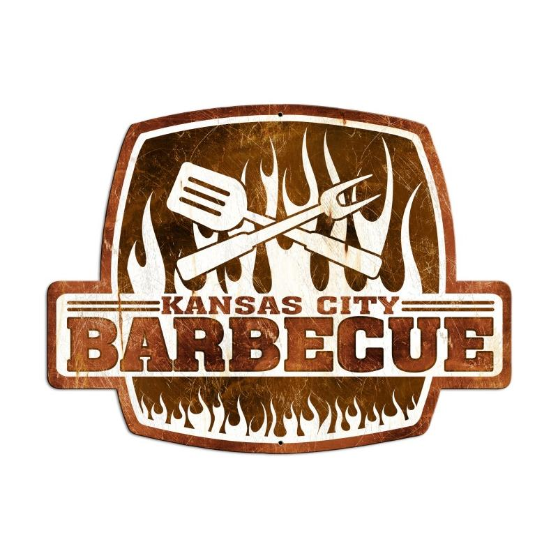 Kansas City Barbecue Vintage Sign
