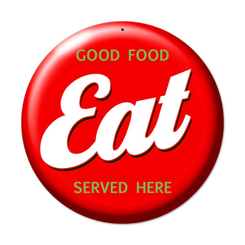 Eat Vintage Sign
