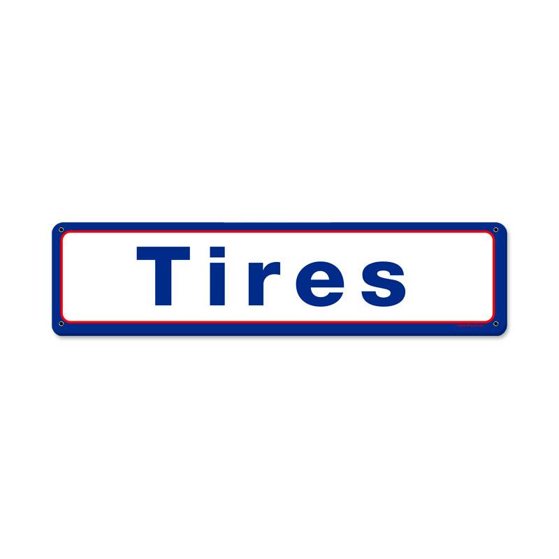 Mobil Tires Vintage Sign