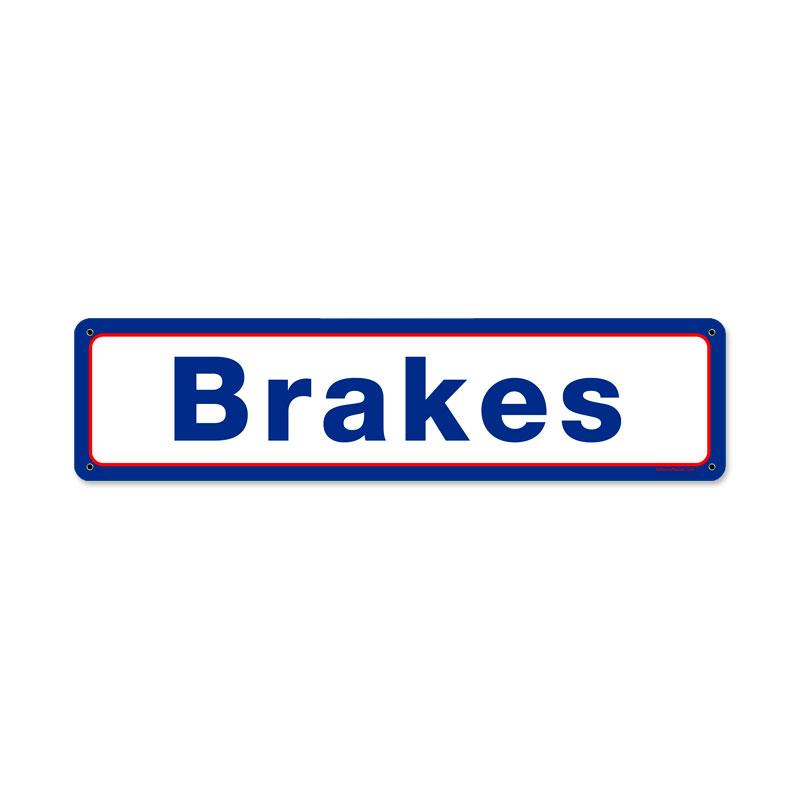 Mobil Brakes Vintage Sign