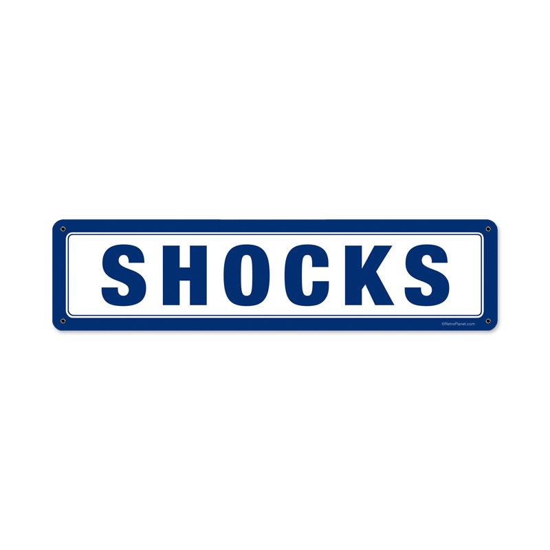 Shocks Vintage Sign