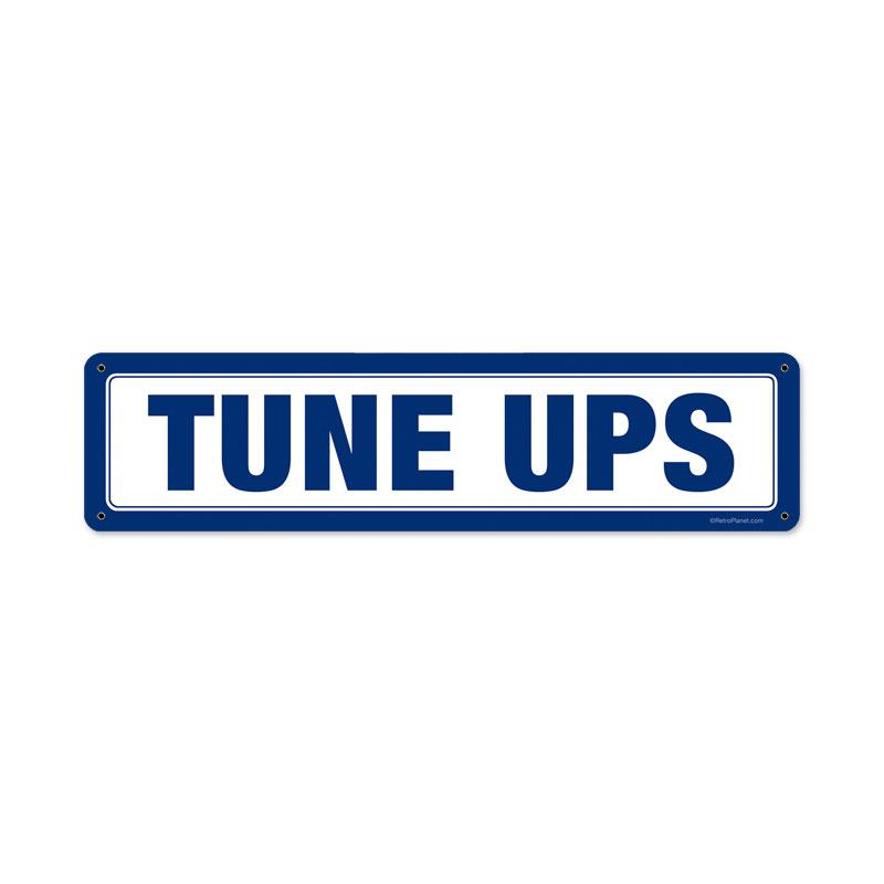 Tune Ups Vintage Sign