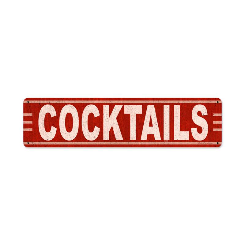 Cocktails Vintage Sign