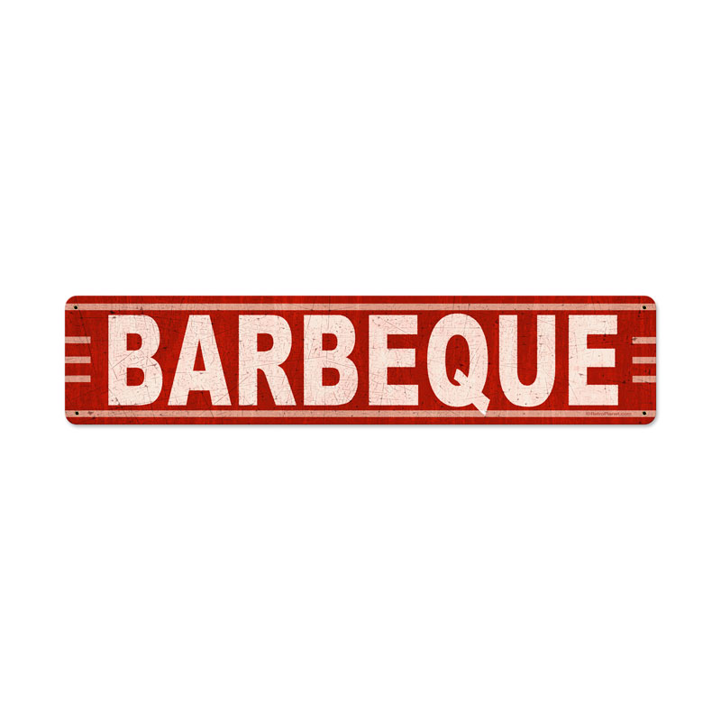 Barbeque Vintage Sign