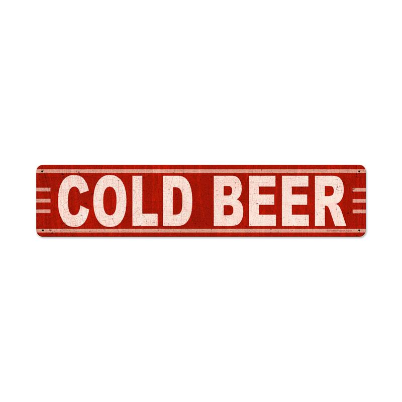 Cold Beer Vintage Sign