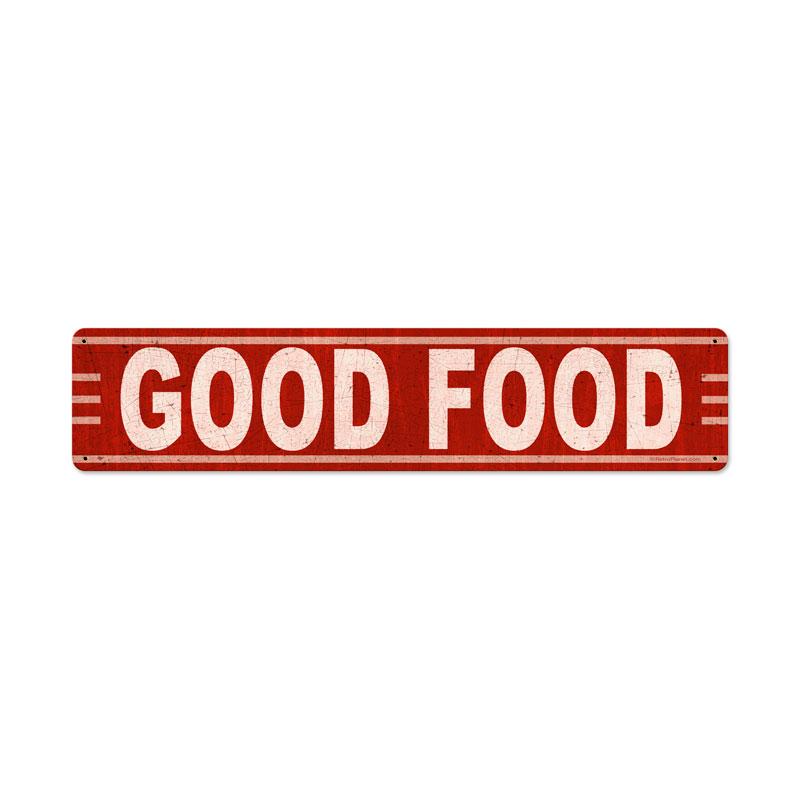 Good Food Vintage Sign