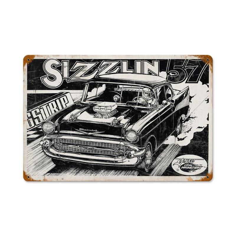 Sizzlin 57 Vintage Sign