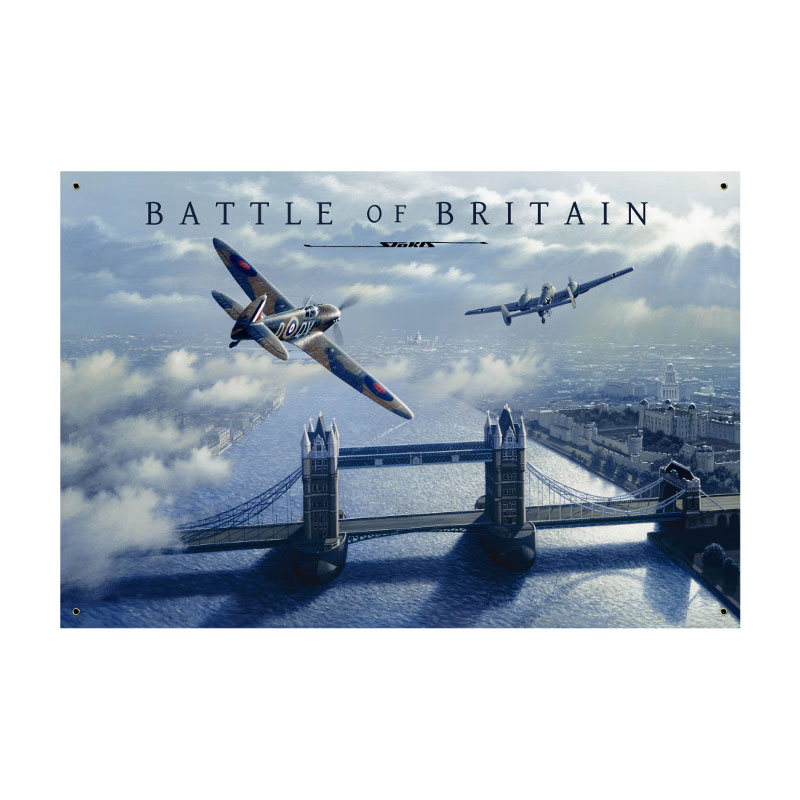 Battle Of Britain Vintage Sign