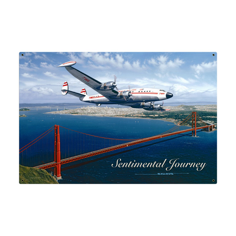 Sentimental Journey Vintage Sign
