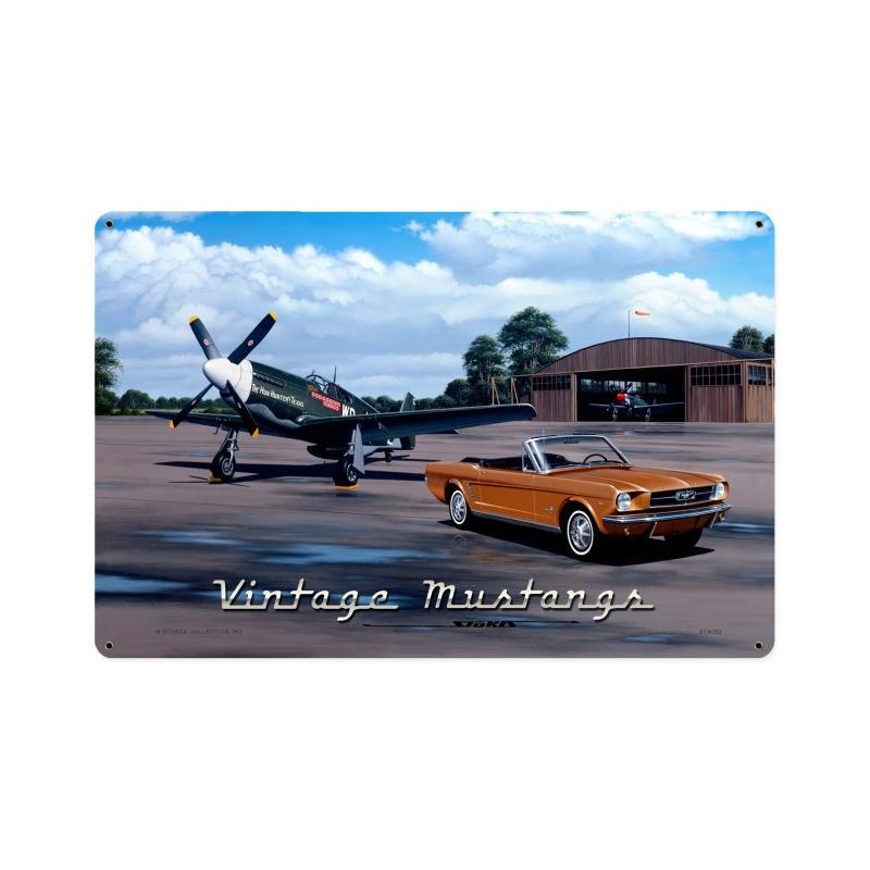 Vintage Mustangs Vintage Sign