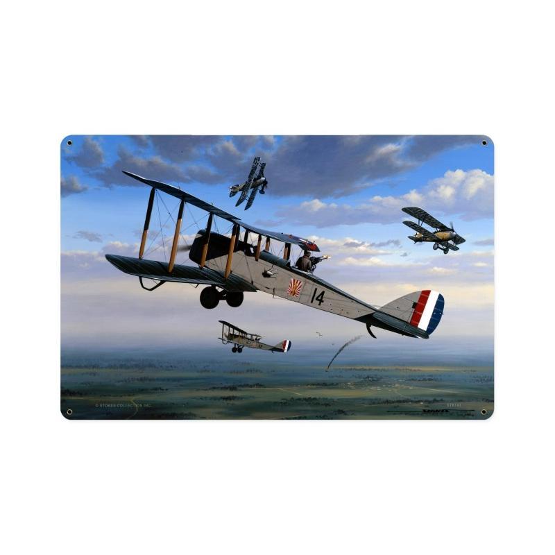 Mitchells Air Armada Vintage Sign
