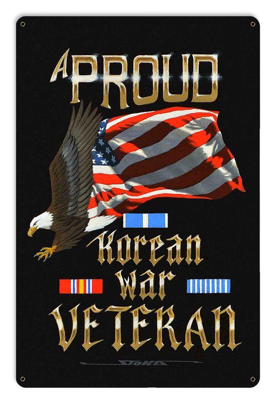 Korean War Vintage Sign