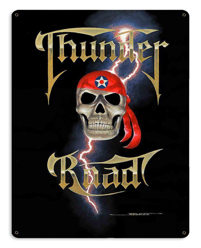 Thunder Road Vintage Sign