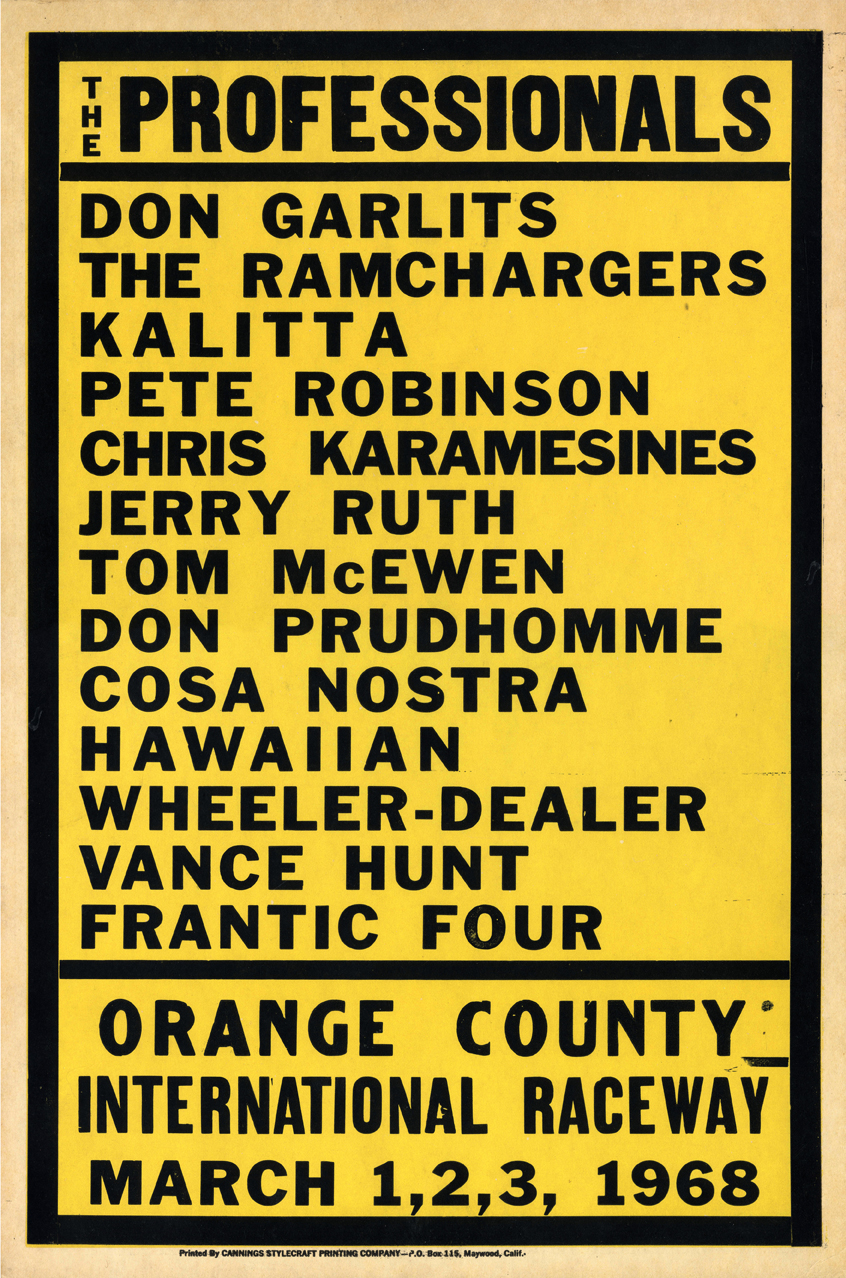 The Professionals Vintage Sign