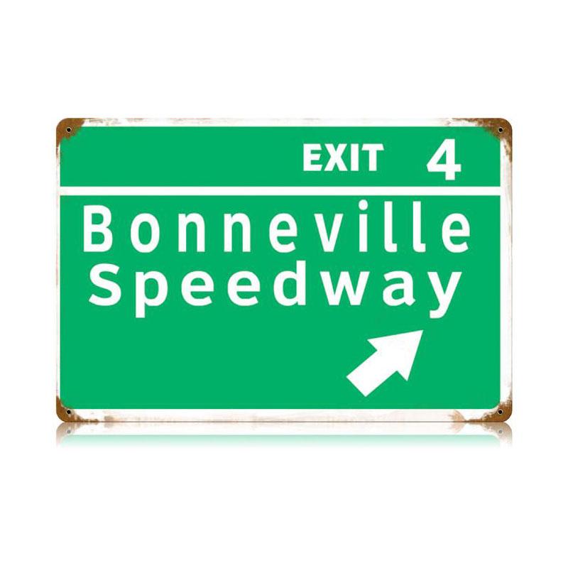 Bonneville Speedway Vintage Sign