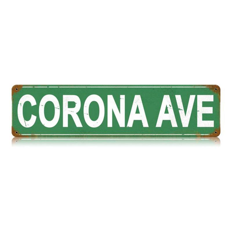 Corona Ave Vintage Sign